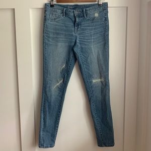 Mossimo Mid Rise Jegging, Skinny, 6/28